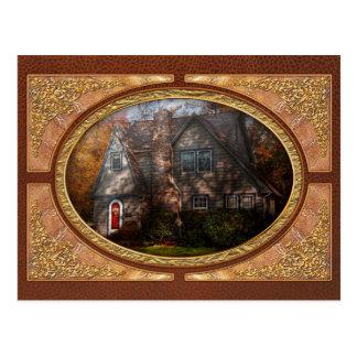 Cottage - Cranford, NJ - Autumn Cottage Post Cards