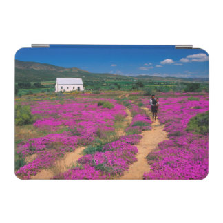 Cottage, Flowers And Girl, Near Kamieskroon iPad Mini Cover