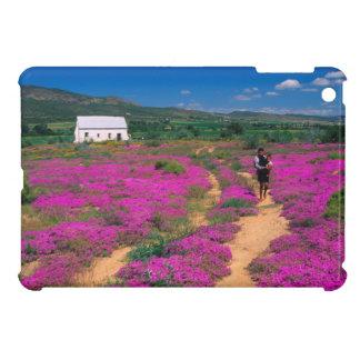 Cottage, Flowers And Girl, Near Kamieskroon iPad Mini Covers