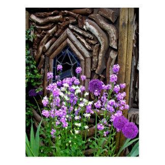 Cottage Garden Postcard