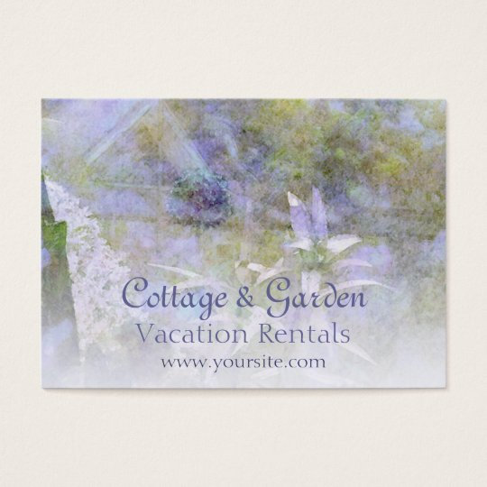 Cottage & Garden Vacation Rentals Business Card