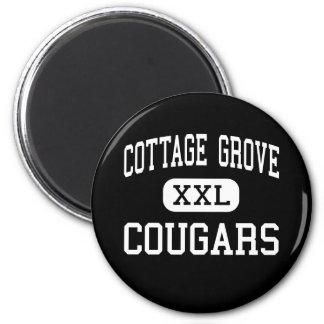 Cottage Grove - Cougars - Junior - Cottage Grove Refrigerator Magnet