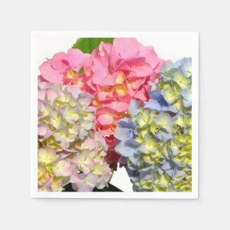 Cottage Hydrangea Paper Napkin