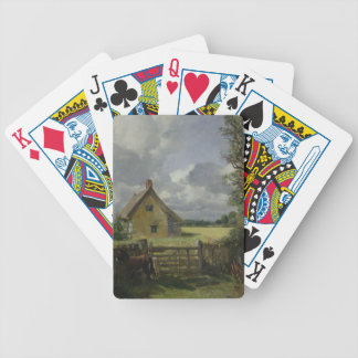 Cottage in a Cornfield, 1833 Bicycle Playing Cards