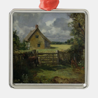 Cottage in a Cornfield, 1833 Christmas Ornament