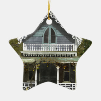 Cottage on Martha's Vineyard Christmas Ornament