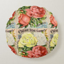 Cottage Rose Vintage Flower Catalogue