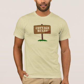 Cottage Rules !  In Effect Summer Tee