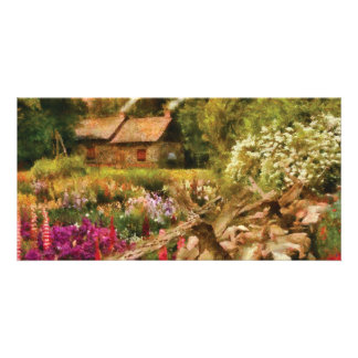 Cottage - There's no place like home Photo Card
