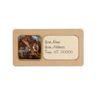 Cottage - Westfield, NJ - Family Cottage Address Label