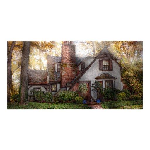 Cottage - Westfield, NJ - Grandma Ridinghoods hous Photo Card Template