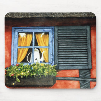 Cottage Window Mouse Pad