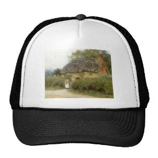 Cottage With Sunflowers Cap