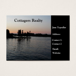 Cottagers Realty-Real Estate Business Card