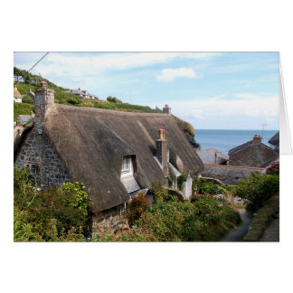 Cottages at Cadgwith Cornwall Photograph Card