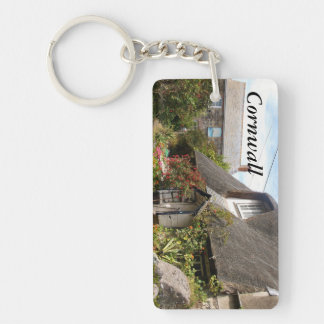 Cottages at Cadgwith Cornwall Photograph Key Ring