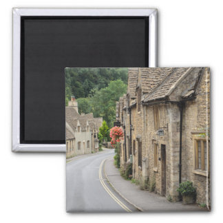 Cottages in Castle Combe, UK photo magnet