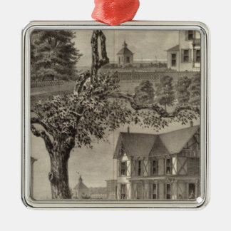 Cottages of WC Hamilton, Spring Lake, NJ Christmas Ornament
