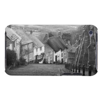 Cottages on a golden hill, Shaftesbury, Dorset, En Barely There iPod Cases