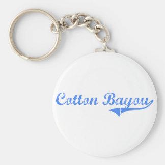 Cotton Bayou Alabama Classic Design Basic Round Button Key Ring