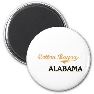 Cotton Bayou Alabama Classic 6 Cm Round Magnet
