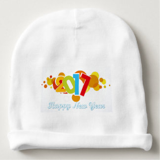 Cotton Beanie happy new year 2017 Baby Beanie