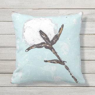 Cotton Boll Outdoor Cushion