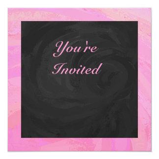 Cotton Candy 13 Cm X 13 Cm Square Invitation Card