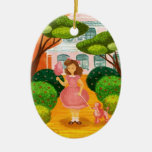 Cotton Candy Christmas Tree Ornament