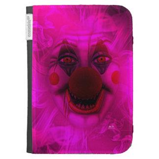Cotton Candy Clown Kindle Case