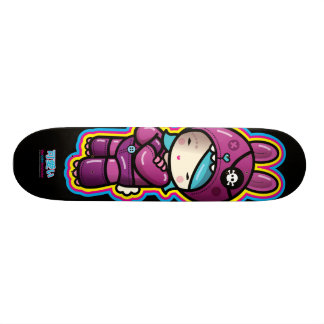 cotton candy deck 18.1 cm old school skateboard deck