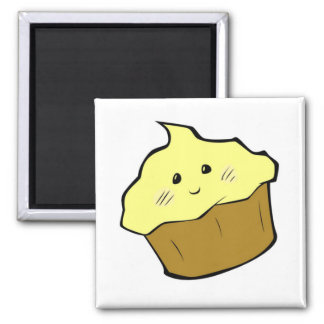 Cotton Candy hoshi Cupcake [MAGNET] Square Magnet