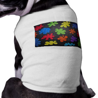 Cotton Candy in Space Sleeveless Dog Shirt