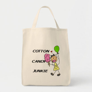 Cotton Candy Junkie Tote Bag