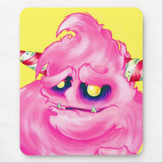 Cotton Candy Monster Mouse Pad