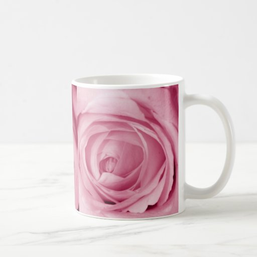 Cotton Candy Pink Save the Date Coffee Mugs