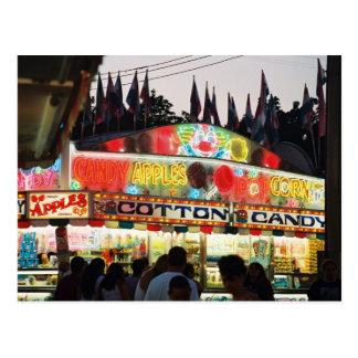 Cotton Candy Postcard