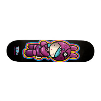 cotton candy skate board deck