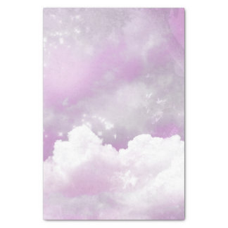 Cotton candy skies tissue paper