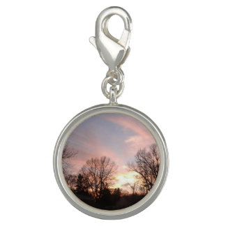 Cotton candy sky charm