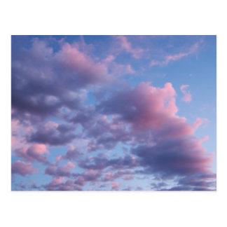 Cotton Candy Sunset Postcard