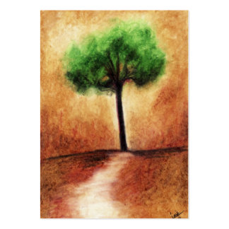Cotton Candy Tree (Green) ACEO Art Trading Cards Pack Of Chubby Business Cards
