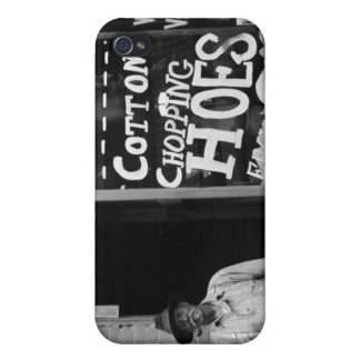 Cotton Chopping Hoes, 1930s Case For iPhone 4