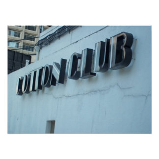 Cotton Club Posters
