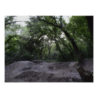 Cotton Covered Trails Poster