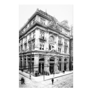 Cotton Exchange New Orleans 1881 Customized Stationery