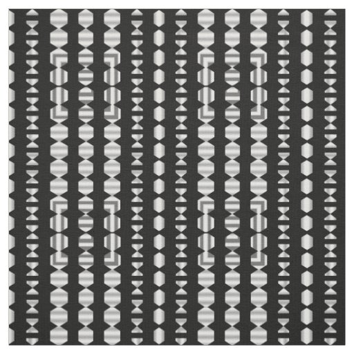 Cotton Fabric-Crafts -Home- Black/White/Grey Fabric