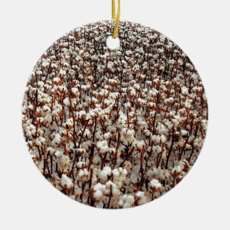 Cotton Field Christmas Ornament