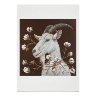 cotton king flat card 13 cm x 18 cm invitation card