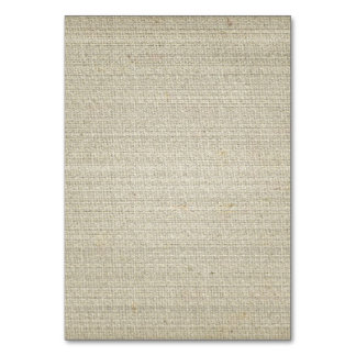 Cotton Linen Background Table Cards